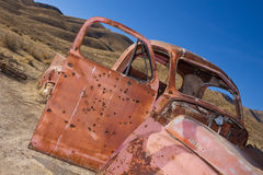 Old Rusted Abandoned Truck royalty free stock photography