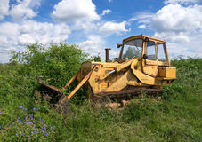 Old rusted bulldozer Royalty Free Stock Image