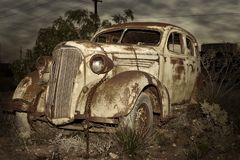 Old rusted car Stock Photography