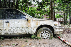 Old rusted car Royalty Free Stock Images