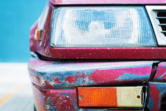 Old and rusted car Royalty Free Stock Photo