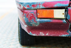 Old and rusted car Royalty Free Stock Photography