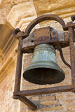 Old rusted church bell Royalty Free Stock Photos