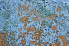 Old rusted corroded metal or steel sheet Stock Images