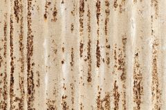 Old rusted corrugated metal wall texture photo Stock Photo