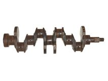 Old rusted crankshaft Royalty Free Stock Images