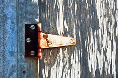 Old Rusted Door Hinge Royalty Free Stock Image