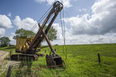Old rusted dragline Royalty Free Stock Photos