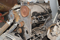Old rusted engine Royalty Free Stock Photo