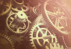 Old rusted gears Royalty Free Stock Photos