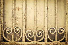 Old rusted grate Stock Photography
