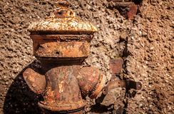 Old rusted hydrant Stock Image
