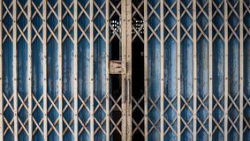 Old rusted iron gates Stock Photography