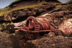 Old rusted iron Royalty Free Stock Image