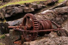 Old rusted iron Stock Image