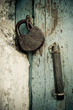 Old rusted lock Royalty Free Stock Image
