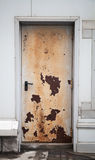 Old rusted locked door Royalty Free Stock Photography