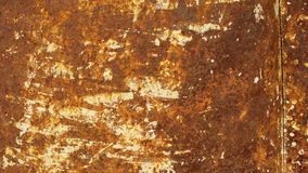 Old rusted metal. Old rusted red metal texture royalty free stock image