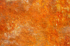 Old rusted metal surface. Variant two. The old rusted metal surface - can be used as abstract background. Variant two Royalty Free Stock Photography