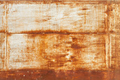 Old rusted metal wall grunge texture Stock Image