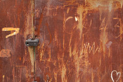 Old rusted tin background and texture Stock Photos