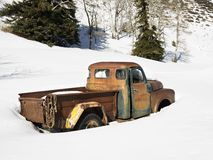 Old rusted truck. Royalty Free Stock Photo