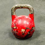 Old rusted weight Stock Photography