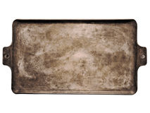 Old rustic baking sheet Stock Images