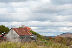 Old rustic barn Stock Image