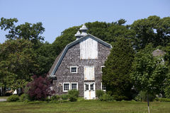 Old Rustic Barn. At  Bayard Cutting Arboretum State Park, Long Island, New York Stock Photography