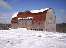 Old rustic barn. Lunenburg County Nova Scotia Royalty Free Stock Photography