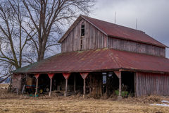 Old rustic barn. Stock Images