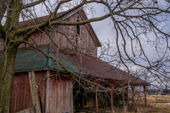 Old rustic barn. Royalty Free Stock Image