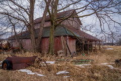 Old rustic barn. Royalty Free Stock Photos