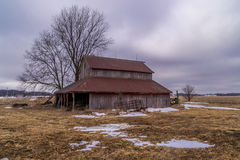 Old rustic barn. Stock Photos