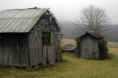 An Old Rustic Barn Royalty Free Stock Images