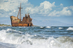 Old rustic big ship Stock Image