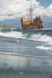 Old rustic big ship Royalty Free Stock Photos