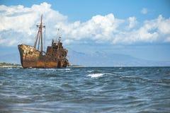 Old rustic big ship Royalty Free Stock Photo
