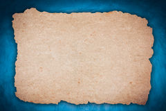 Old rustic blank paper stock image