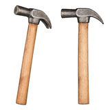 Old rustic claw hammer Stock Photos