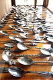 Old rustic cutlery Royalty Free Stock Photo