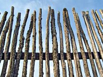 Old rustic fence Royalty Free Stock Photo