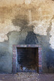 Old, Rustic Fireplace Stock Photos