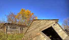 Old Rustic Granary Stock Photo