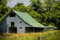 Old Rustic Gray Barn Stock Images