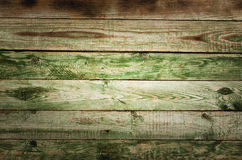 Old rustic green wooden table Royalty Free Stock Photography