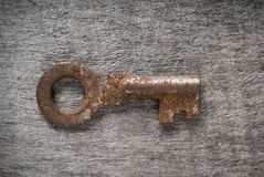 Old rustic key Stock Photography