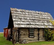 Old rustic log cabin Royalty Free Stock Images