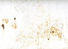 Old Rustic Metal background with white space Royalty Free Stock Images